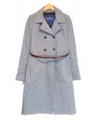 HARNOLD BROOK(アーノルドブルック)の古着「ウールコート」|グレー