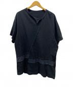 GROUND Y(グラウンドワイ)の古着「Tシャツ」 ブラック