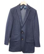 eleventy(イレブンティ)の古着「ウールテーラードジャケット」 ネイビー