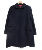 Paul Smith BLACK(ポールスミスブラック)の古着「コート」|ネイビー