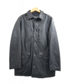 allegri(アレグリ)の古着「レザージャケット」|ブラック