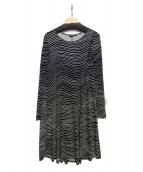 marimekko(マリメッコ)の古着「カットソーワンピース」 ブラック