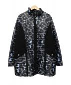 SONIA RYKIEL(ソニアリキエル)の古着「中綿キルティングコート」|グレー