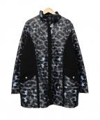 SONIA RYKIEL(ソニア リキエル)の古着「中綿キルティングコート」|グレー