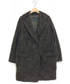 S Max Mara(エス マックスマーラ)の古着「ダブルコート」|オリーブ