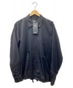 GOLDWIN(ゴールドウィン)の古着「コーチジャケットシャツ」|ブラック