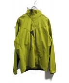 KLATTERMUSEN(クレッタルムーセン)の古着「ソフトシェルジャケット」|黄緑