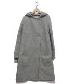 UNITED TOKYO(ユナイテッドトウキョウ)の古着「デタッチャブルフードコート」|グレー