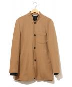 BED J.W. FORD(ベッドフォード)の古着「スタンドカラージャケット」|ブラウン