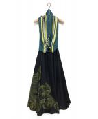 YOKANG(ヨーカン)の古着「3wayリボンワンピース」|ブラック