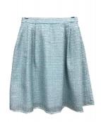 TOCCA(トッカ)の古着「HOLLYWOODスカート」 スカイブルー