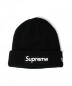 SUPREME×NEWERA(シュプリーム×ニューエラ)の古着「Box Logo Beanie」|ブラック