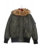 DIESEL(ディーゼル)の古着「N-2Bジャケット」|オリーブ