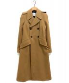 SONIA RYKIEL(ソニアリキエル)の古着「ロングコート」|キャメル