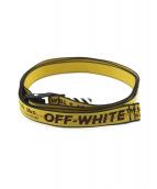 OFFWHITE(オフホワイト)の古着「ベルト」|イエロー