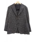 TAGLIATORE(タリアトーレ)の古着「ツイード2Bジャケット」