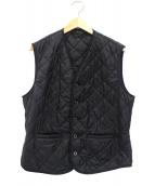 Barbour(バブアー)の古着「キルティングベスト」|ブラック