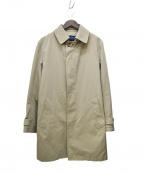 GRENFELL(グレンフェル)の古着「ライナー付ステンカラーコート」|ベージュ