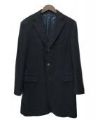 caruso(カルーゾ)の古着「カシミヤチェスターコート」|ブラック
