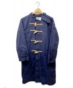 MHL(エムエイチエル)の古着「ダッフルコート」|ネイビー