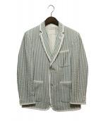 Black Fleece(ブラックフリース)の古着「シアサッカージャケット」|ブルー