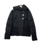 YOSOOU(ヨソオウ)の古着「ダウンジャケット」|ブラック