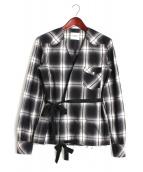 TAKAHIROMIYASHITA TheSoloIst.(タカヒロミヤシタザソロイスト)の古着「作務衣シャツ」|ブラック