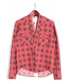 TAKAHIROMIYASHITA TheSoloIst.(タカヒロミヤシタ ザソロイスト)の古着「作務衣シャツ」|レッド
