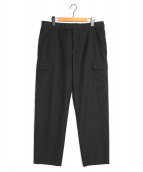 Dior Homme(ディオールオム)の古着「スラックスカーゴパンツ」|ブラック