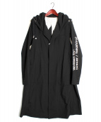 TAKAHIROMIYASHITA TheSoloIst.(タカヒロミヤシタ ザソロイスト)の古着「フーデッドコート」|ブラック