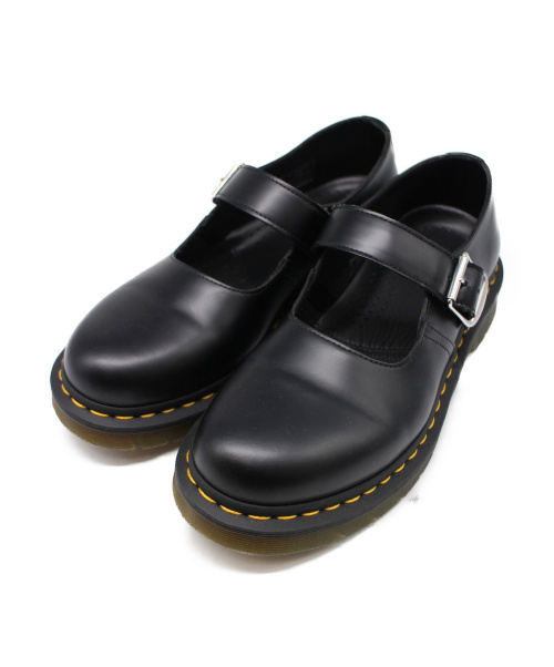 Dr.Martens(ト゛クターマーチン)Dr.Martens (ドクターマーチン) スムースレザーストラップシューズ ブラック サイズ:EU39/UK6 5026の古着・服飾アイテム