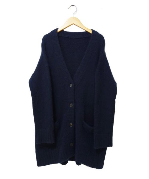TICCA(ティッカ)TICCA (ティッカ) ニットカーディガン ネイビー サイズ:Fの古着・服飾アイテム