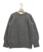 LE CIEL BLEU(ルシェルブルー)の古着「モヘヤ混ニット」|グレー