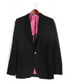 COMME des GARCONS HommePlus EVERGREEN(コム デ ギャルソン オム プリュス エバーグリーン)の古着「テーラードジャケット」|ブラック