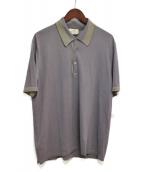 HERMES(エルメス)の古着「ポロシャツ」|ラベンダー