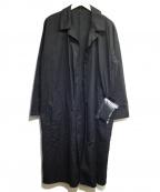 Pilgrim Surf+Supply(ピルグリム サーフ+サプライ)の古着「ガウンコート」 ブラック