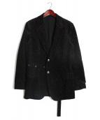 YohjiYamamoto pour homme(ヨウジヤマモトプールオム)の古着「ラメ加工ジャケット」|ブラック
