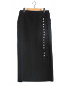 YohjiYamamoto pour homme(ヨウジヤマモトプールオム)の古着「ラップスカート」|ブラック