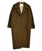RIVE DROITE(リヴドロウ)の古着「ビーバーロングコート」 オリーブ