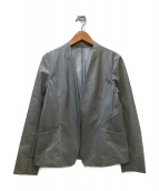 COMME CA(コムサ)の古着「スカートスーツ」|グレー