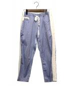 GANRYU(ガンリュウ)の古着「クロップドパンツ」|ブルー