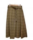 EVEX by KRIZIA(エヴェックスバイクリツィア)の古着「チェックスカート」