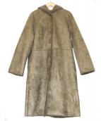 Demi-Luxe BEAMS(デミルクスビームス)の古着「エコムートンコート」 グレージュ