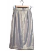 GRACE CONTINENTAL(グレースコンチネンタル)の古着「ラメタイトスカート」