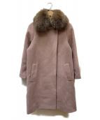 ANAYI(アナイ)の古着「コート」|ピンク