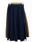 Ne-net(ネネット)の古着「デニムプリーツスカート」
