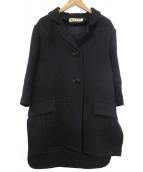MARNI(マルニ)の古着「コート」|ブラック