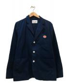 Vincent et Mireille(ヴァンソンエミレイユ)の古着「テーラードジャケット」|ブルー