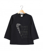 BLACK COMME des GARCONS×NIKE(ブラックコムデギャルソン×ナイキ)の古着「ロングスリーブカットソー」|ブラック