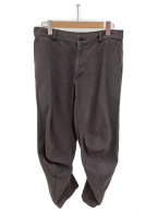 BLACK COMME des GARCONS(ブラックコムデギャルソン)の古着「変形パンツ」 グレー